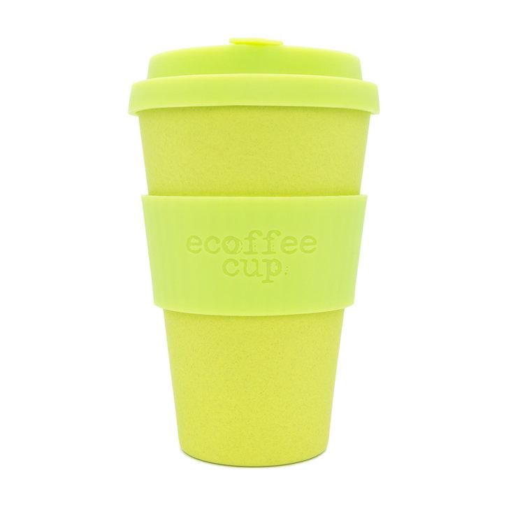 Bambusový ecoffee cup limetkový