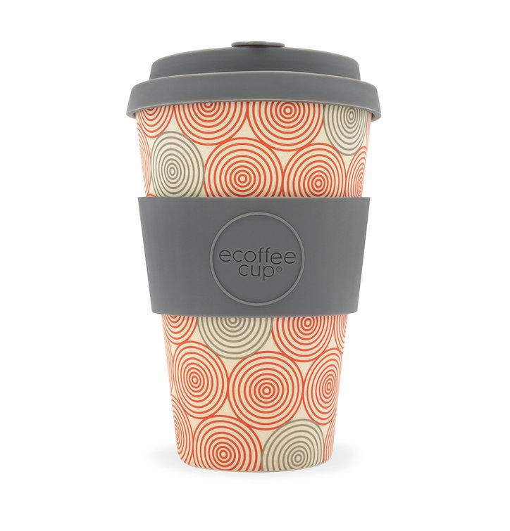 Bambusový ecoffee cup Špirála