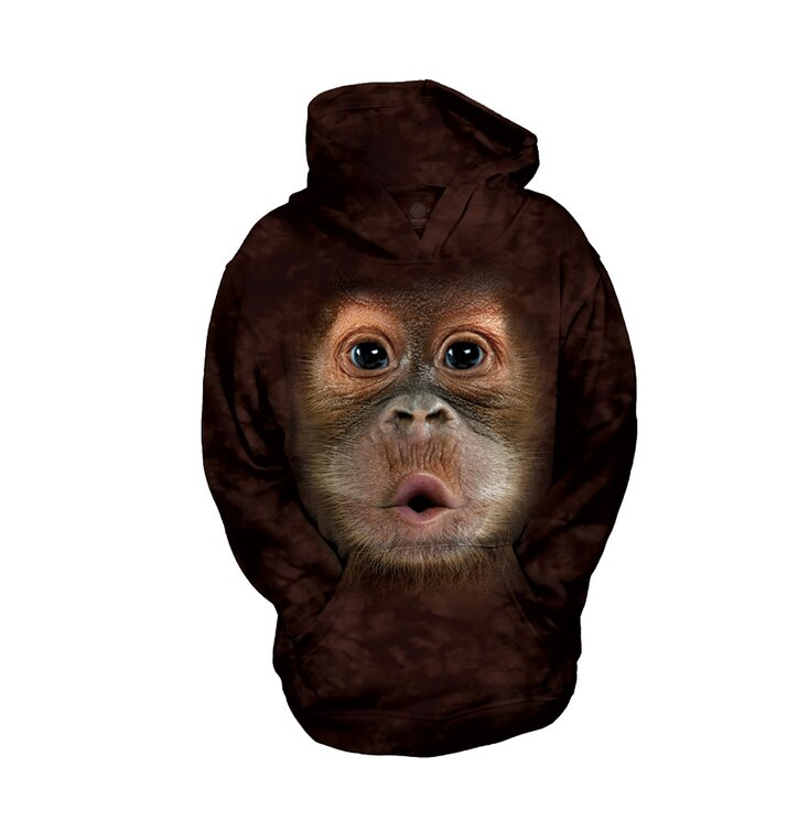 Detská mikina s kapucňou Orangutan