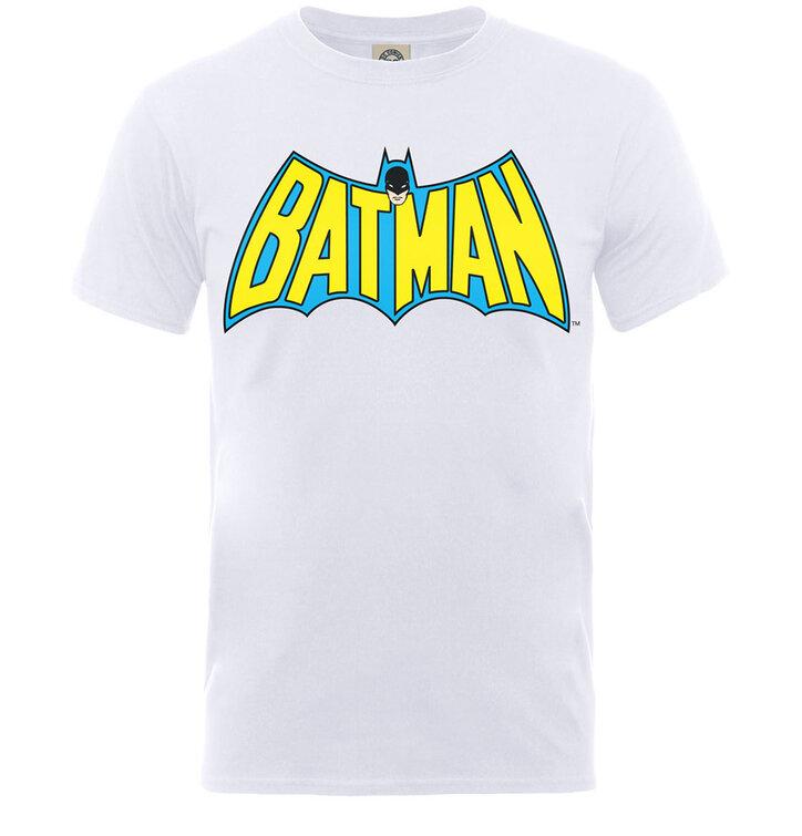 Biele detské tričko DC Comics Batman Logo