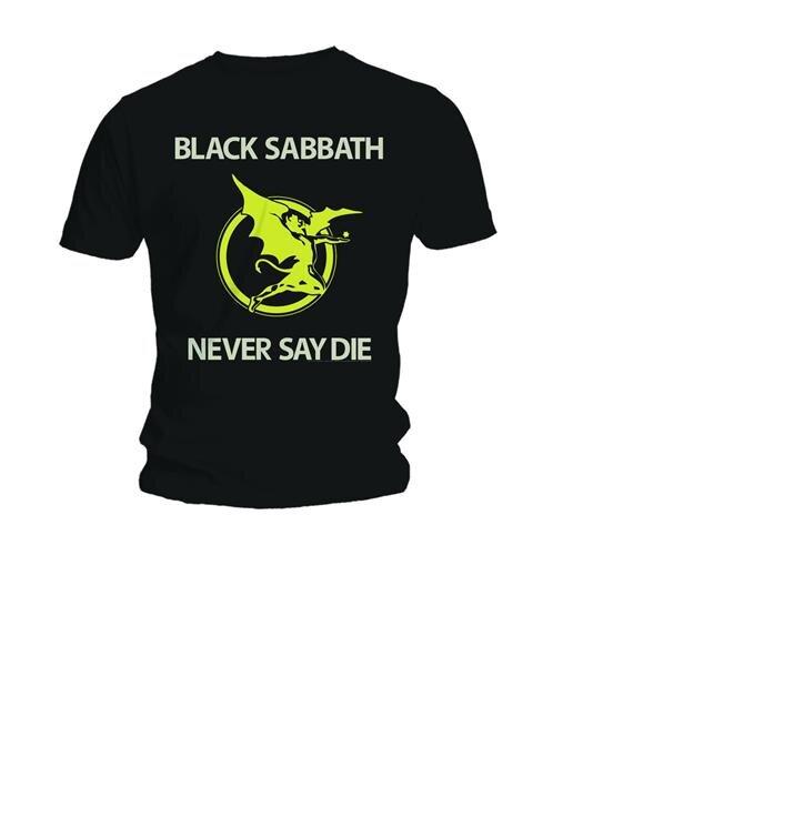 T-Shirt Black Sabbath Never Say Die