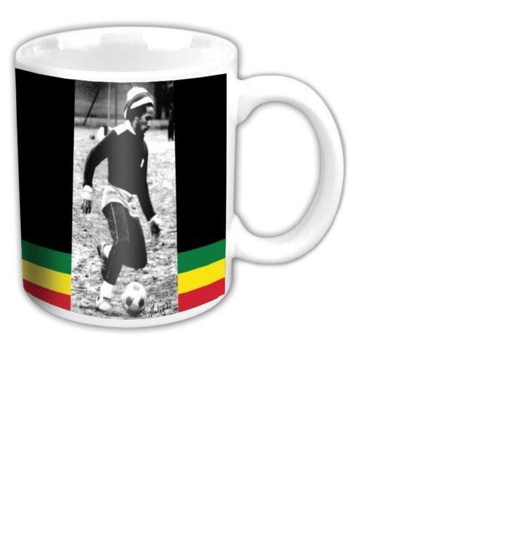 Keramický hrnček Bob Marley Soccer