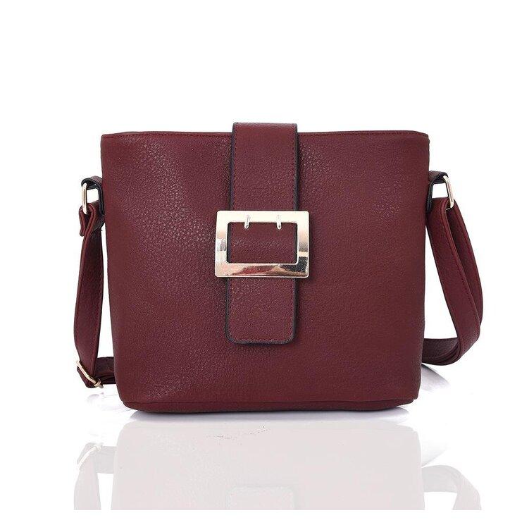Bordová kabelka s prackou Janella