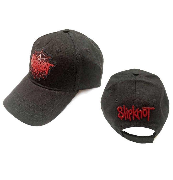 Čierna šiltovka Slipknot Men's Logo