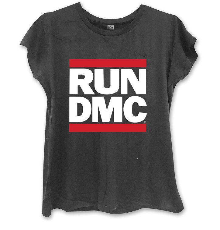 Crna ženska majica Run DMC Logo