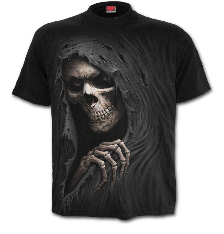 Čierne tričko Zákerná smrtka