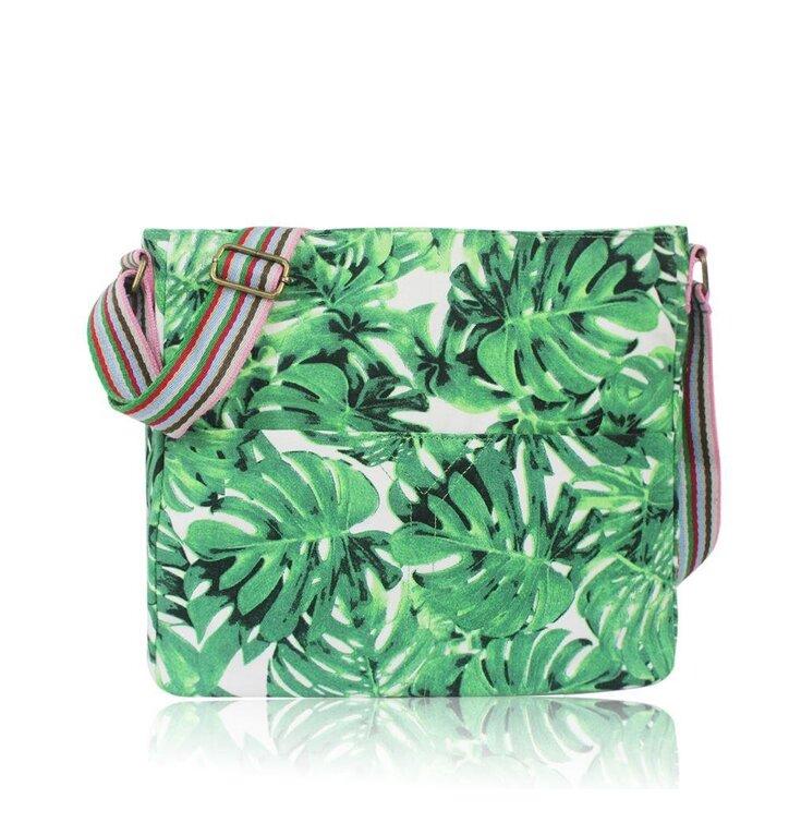Výjimečný dárek od Dedoles Dámská kabelka Hawaii zelená df343cad12