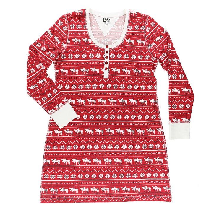 da418aa65020 Hľadáte originálny a nezvyčajný darček  Obdarovaného zaručene prekvapí  Dámska nočná košeľa s dlhým rukávom Polárny