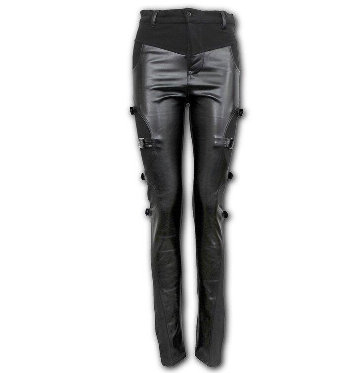 Dámské motorkářské kalhoty Gotický rock