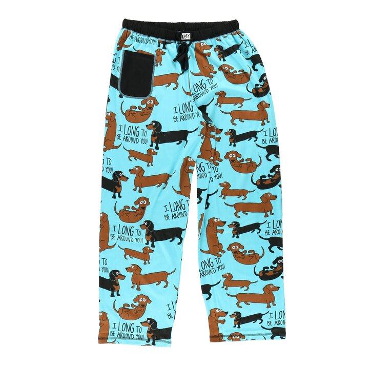 Dámske pyžamové nohavice Jazvečík