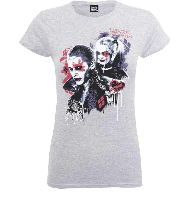 Damen T-Shirt DC Comics Suicide Squad Harley's Puddin