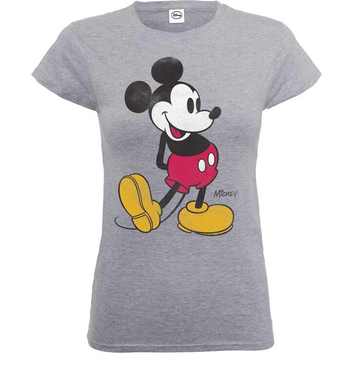 Potešte sa týmto kúskom Dedoles Dámske tričko Disney Mickey Mouse Classic  Kick 9d84aeb48ee