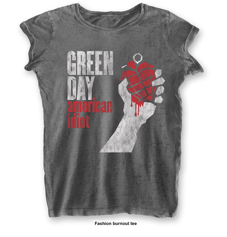 Dámske tričko Green Day American Idiot Vintage