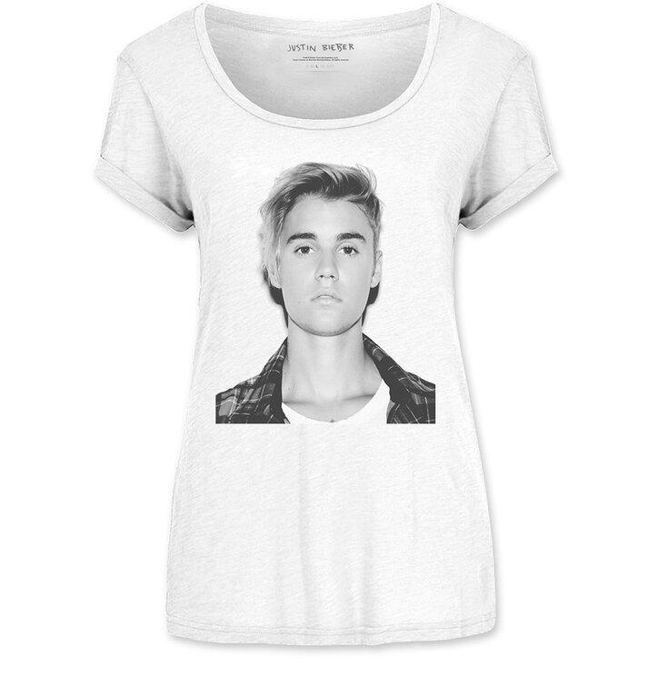 Damen T Shirt Justin Bieber Love Yourself Dedoles