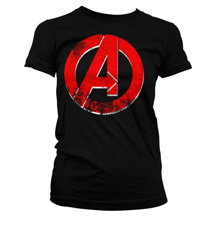 Dámske tričko Marvel Comics The Avengers Logo
