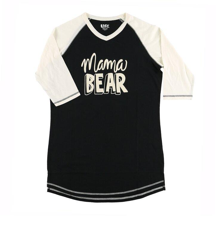 Dámske tričko na spanie Mama medvedica