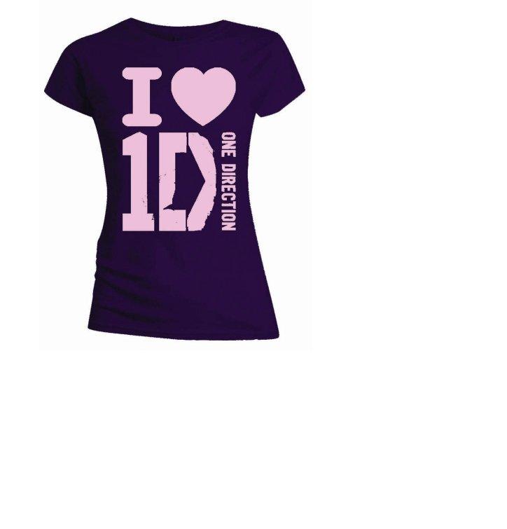 Sleva Dámské tričko One Direction I Love 40f4558b0d