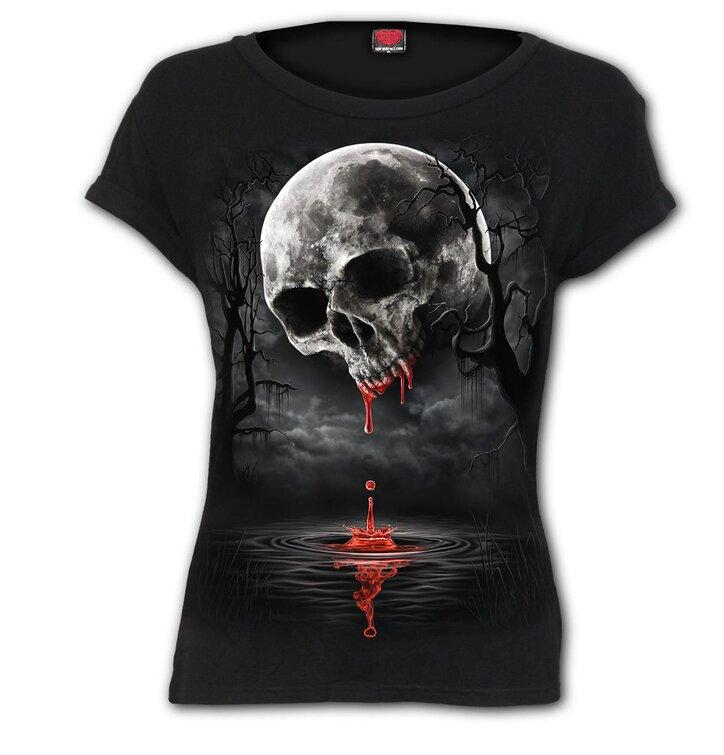 Dámske tričko Temný mesiac