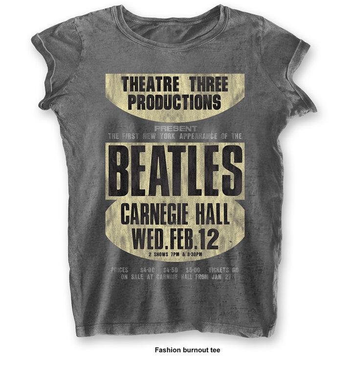 Ženska majica The Beatles Carnegie Hall