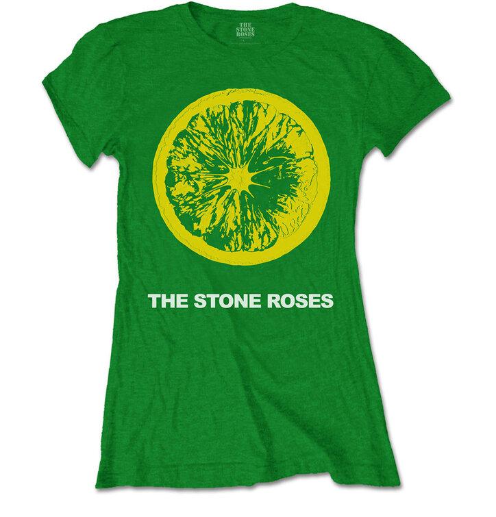 26b5f4c1b612 Výjimečný dárek od Dedoles Dámské tričko The Stone Roses Lemon   Logo