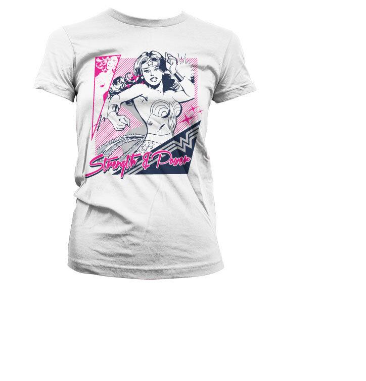Dámske tričko Wonder Woman Sila a Bojovnosť