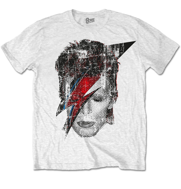 Majica David Bowie Halftone Flash Face