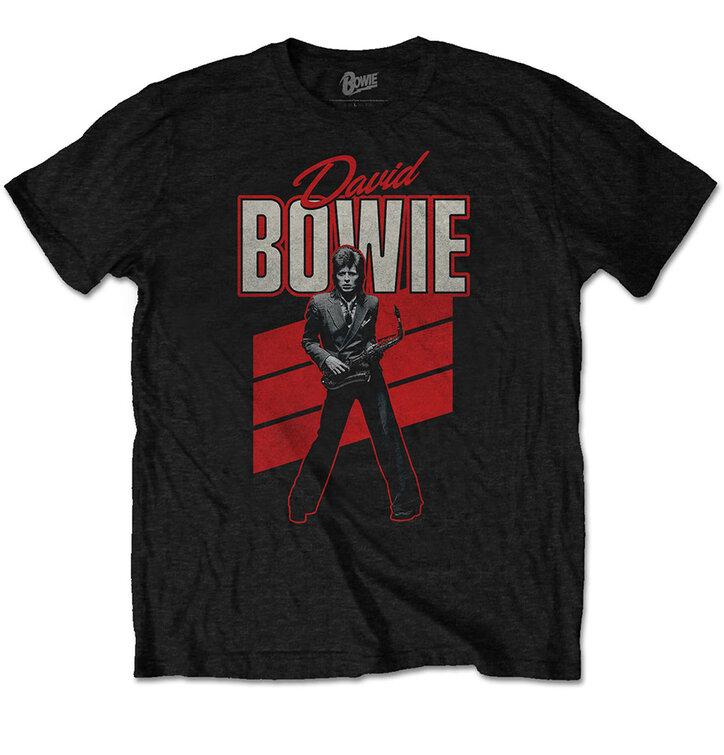 Koszulka David Bowie Red Sax