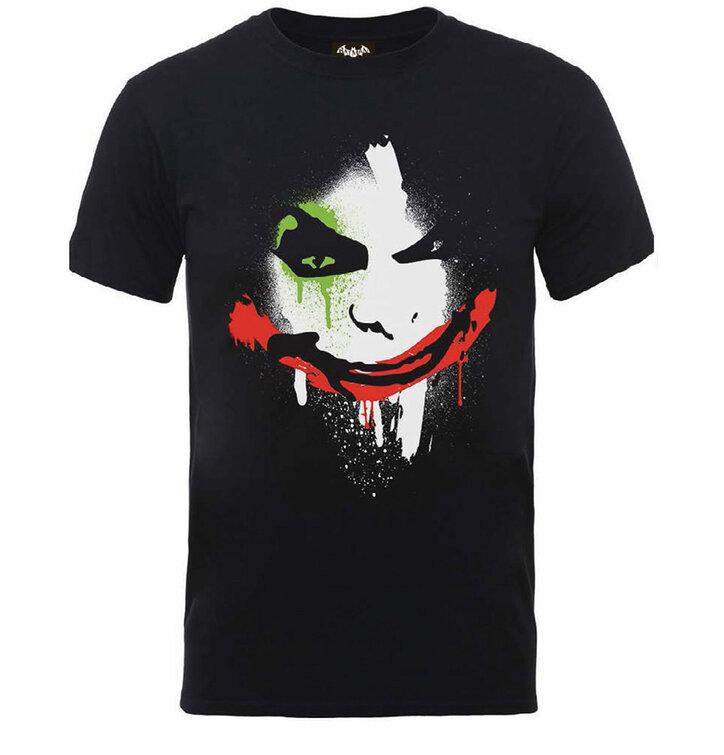 Foto DC Comics Batman Arkham City Halloween Joker Face Pólo f309792be6