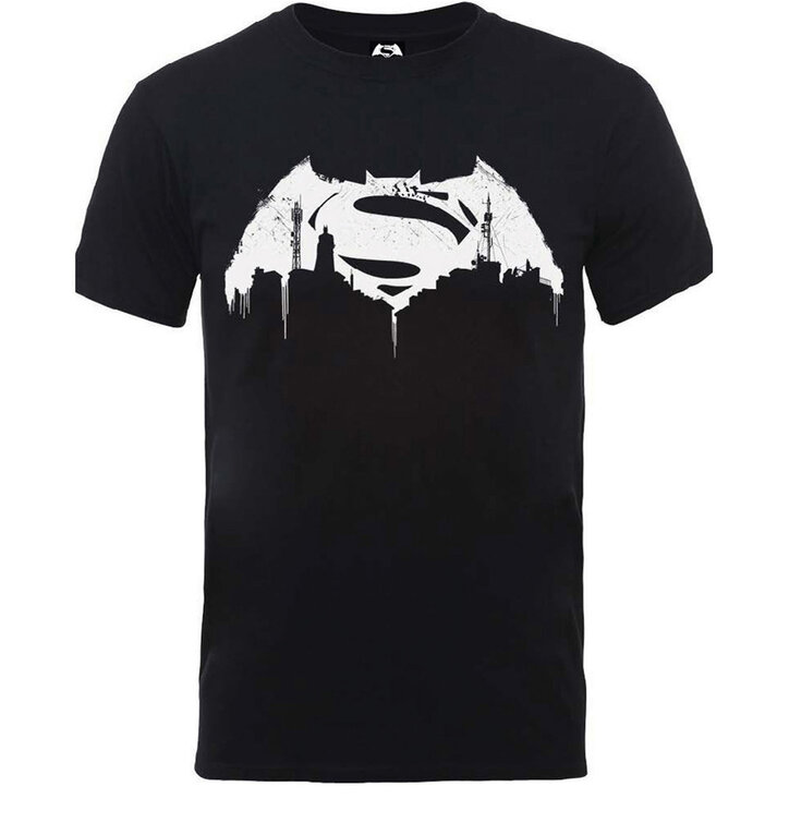 Tricou DC Comics Batman v Superman Beaten Logo