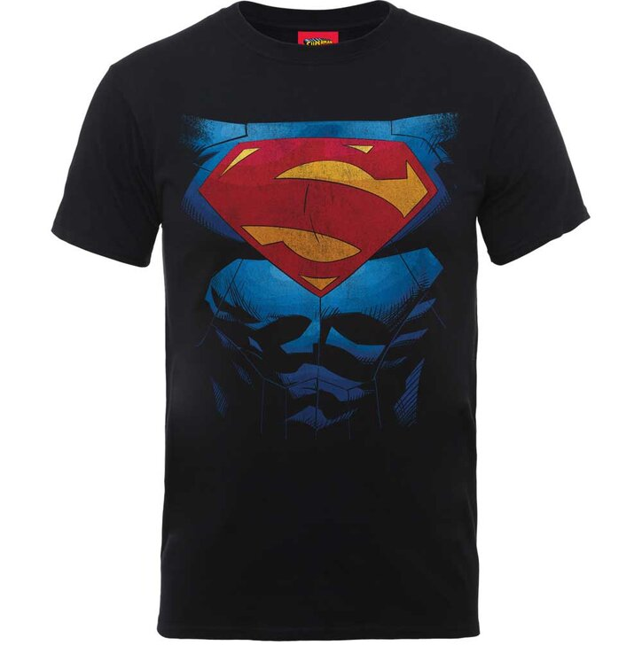 DC Comics Superman Pectacular Logo Pólo