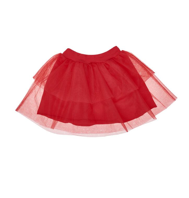 Obrázok produktu Detská červená sukňa z tylu 533100384f