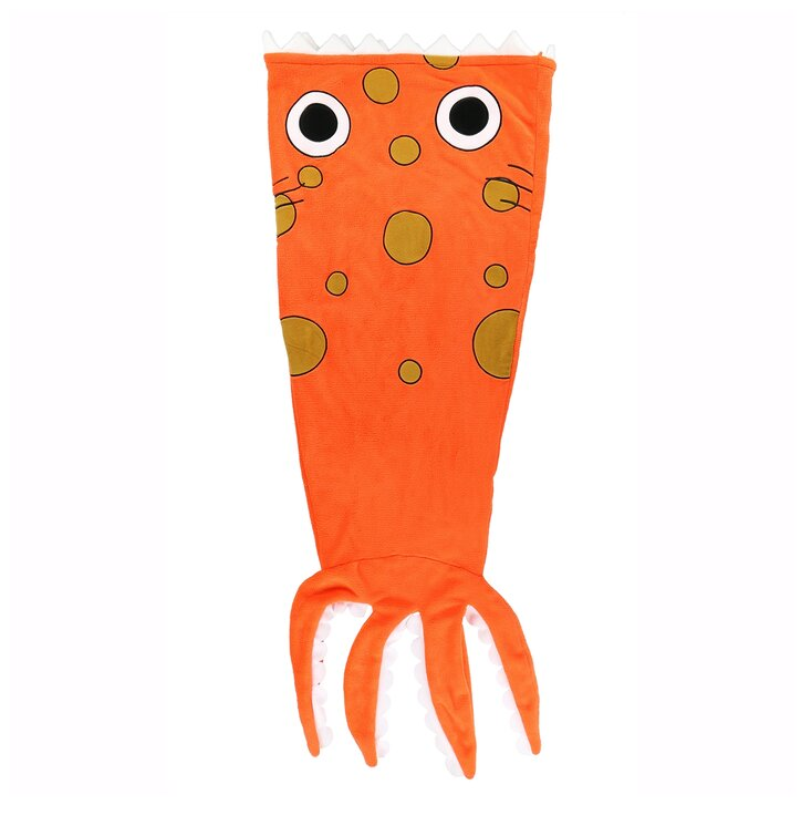Detská deka v tvare Chobotnice