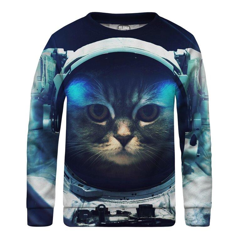 Detská mikina bez kapucne Space Cat