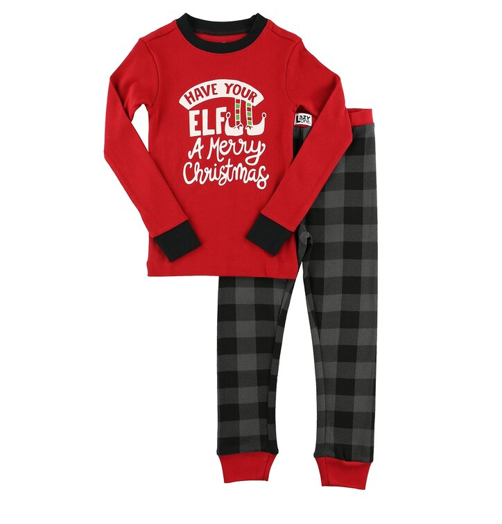 0195a08a4b Detské dvojdielne pyžamo Vianočný Elf