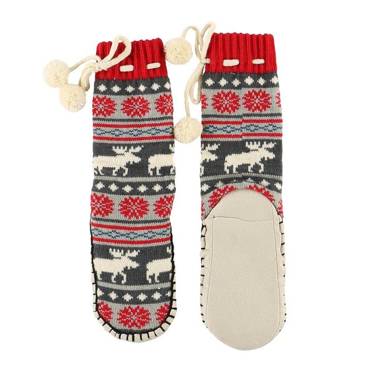 Detské ponožkové papuče Los na prechádzke
