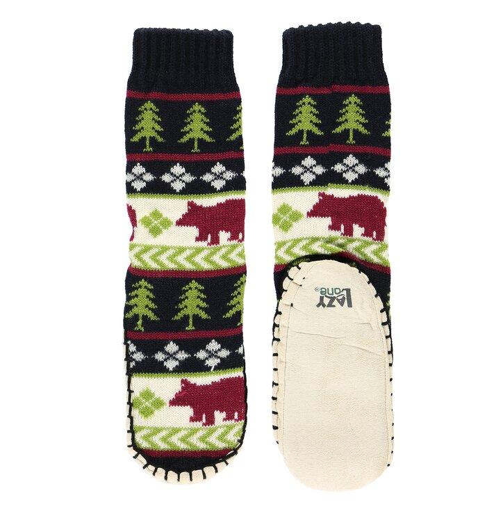 Obrázok produktu Detské ponožkové papuče Medveď v lese 9ce1aa18325
