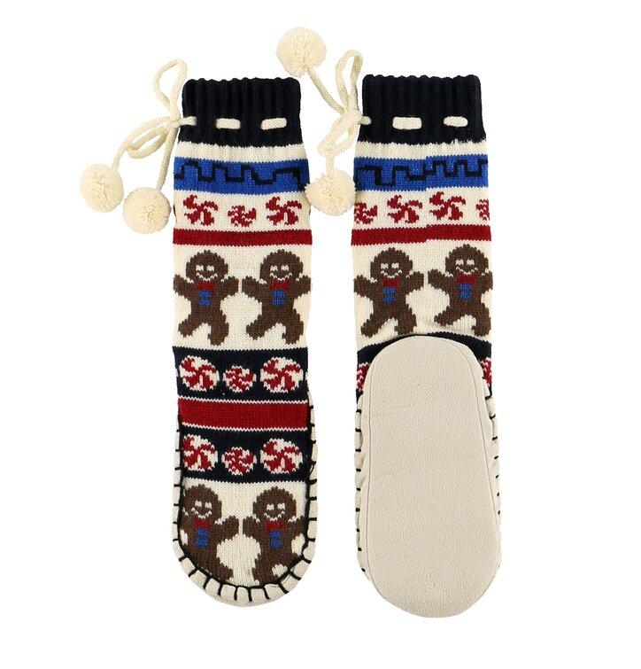 Detské ponožkové papuče Sladké tváre