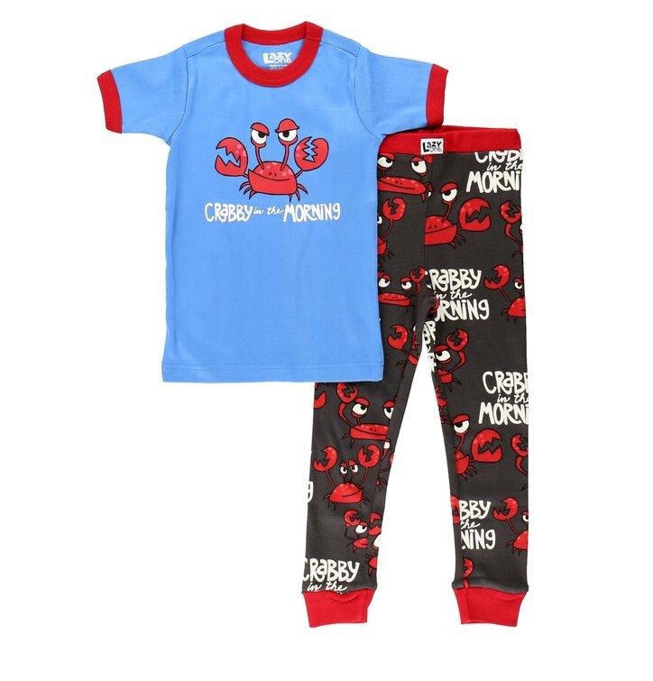 Detské pyžamo krátkym rukávom Krab