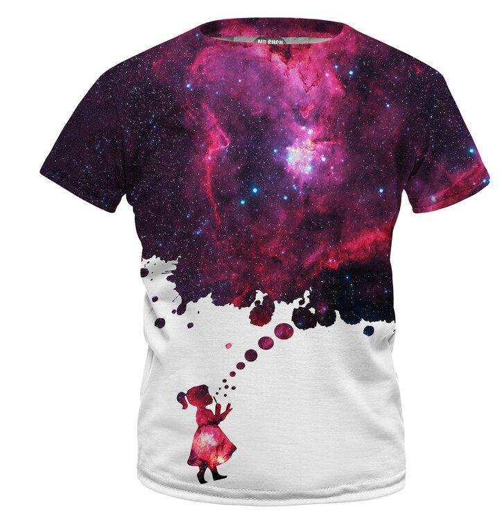 Detské tričko Bubbles To Space