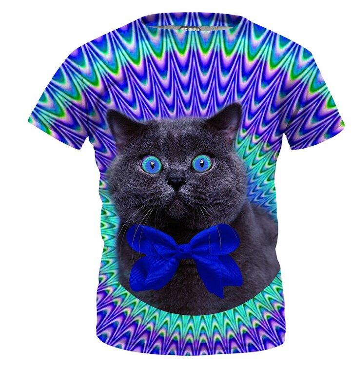 Detské tričko Crazy Cat