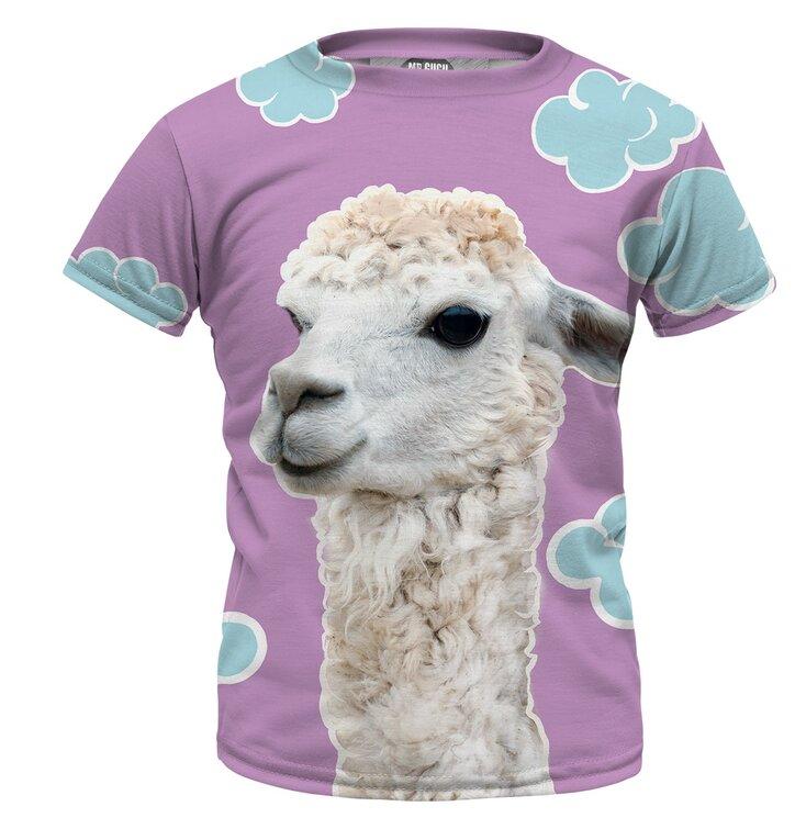 93837c354a8d Tip na darček Detské tričko Lama
