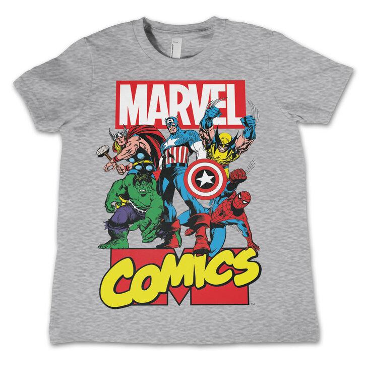 Detské tričko Marvel Comics Captain America Comics Heroes