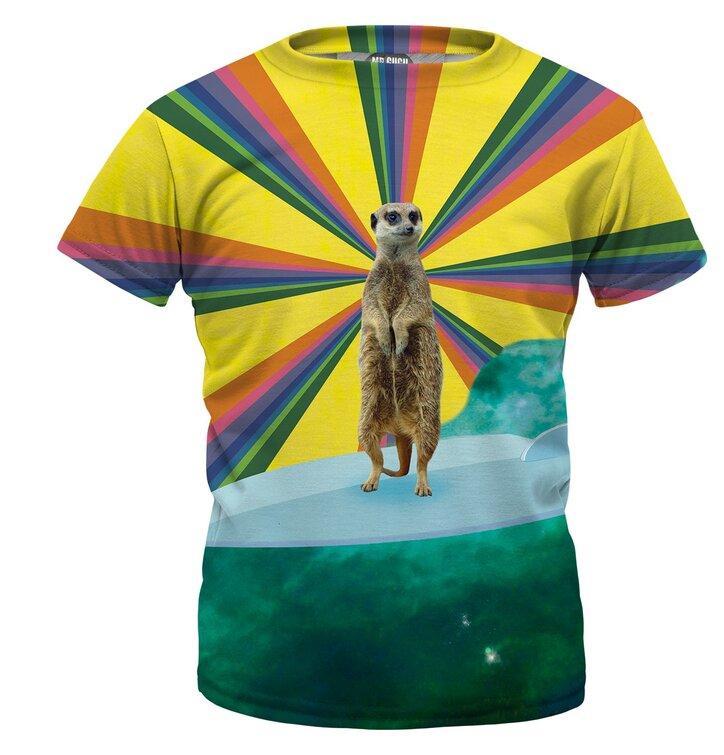 b60476d47cc1 Výnimočný darček od Dedoles Detské tričko Meerkat