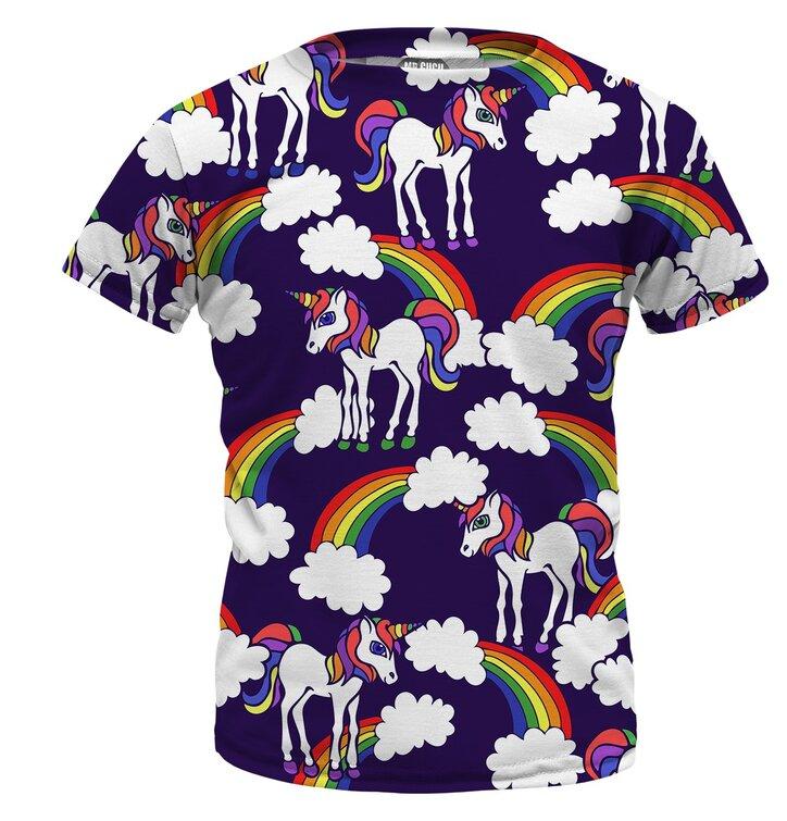 75ab3dff4 Detské tričko Rainbow Unicorns   Dedoles