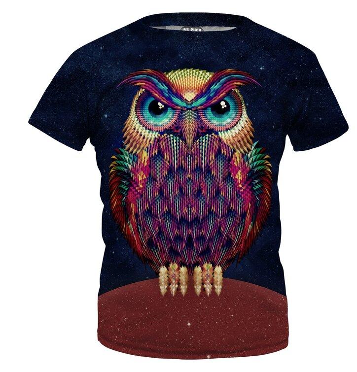 Detské tričko Space Owl