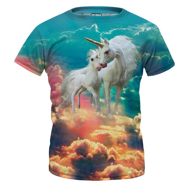 Detské tričko Unicorn Family