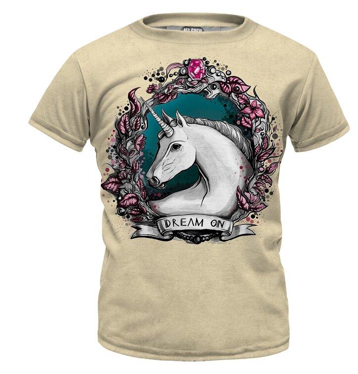 ec593e339 Detské tričko Unicorn Portrait   Dedoles