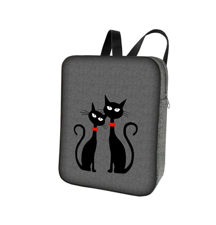 Dizajnový ruksak Dve mačky