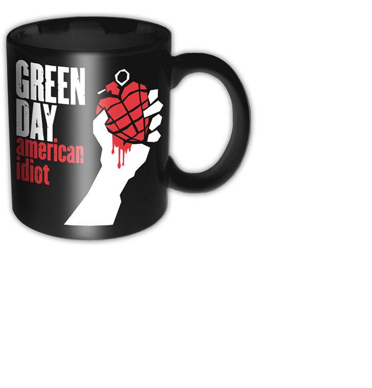 Keramický hrníček Green Day American Idiot