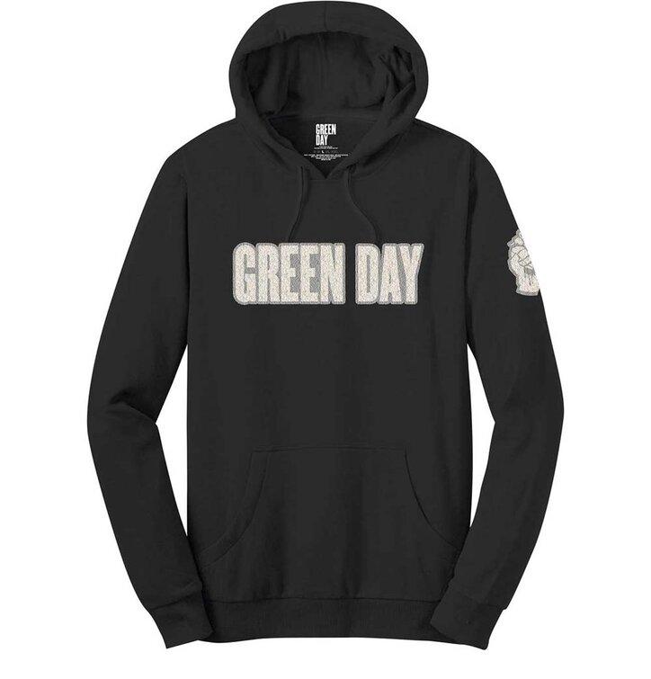 Mikina s kapucňou Green Day Logo